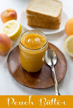Peach Butter | http://www.ihearteating.com | #peach #recipe
