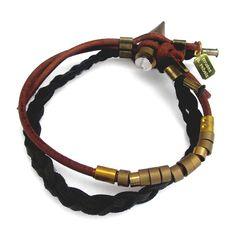 Braid And Bead Bracelet | I love men's bracelets!