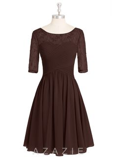 Shop Azazie Bridesmaid Dress - Hattie in Chiffon. Find the perfect made-to-order bridesmaid dresses for your bridal party in your favorite color, style and fabric at Azazie.