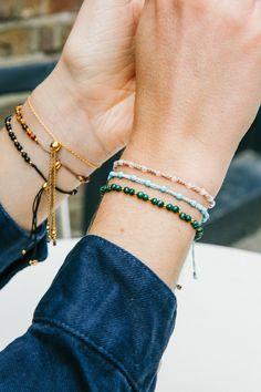 Skinny Friendship Bracelets.
