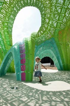 """Gallery of Marc Fornes / THEVERYMANY Completes Their Latest """"Structural Shingle"""" Project in France - 1"""