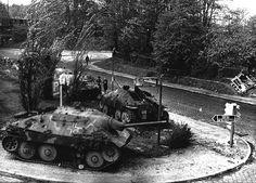 """Jagdpanzer 38T, cazacarros alemán """"Hetzer"""""""