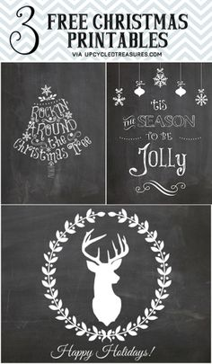 """FREE Hot Chocolate Bar Chalkboard Printable I Upcycled Treasures """"Baby It's Cold Outside"""" Hot Beverage Bar Station for weddings or holiday parties"""