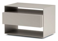 Bedside table / contemporary SANYA by Carlo Colombo Flou