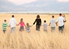 Lovely Large Family Photography Ideas - 9 - Pelfind