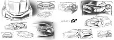 School project of a Skoda racing car suitable for Gran Turismo Game