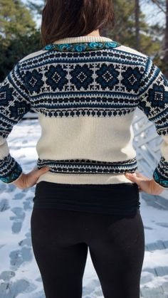 Nordstrik WOOL sweater, Made in Norway. I am going to buy a sweater in Norway in 9 days!!