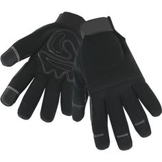 West Chester L Hi-Dex Thin Lng Glove 96580/L Unit: Pair, Black