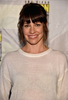 "Evangeline Lilly Photos - Marvel's Hall H Panel For ""Ant-Man"" And ""Avengers: Age Of Ultron"" - Zimbio"