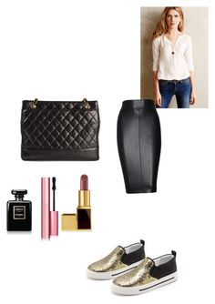 Untitled #206 by jennah-abdulla on Polyvore featuring polyvore, fashion, style, Knitted & Knotted, Bailey 44, Marc by Marc Jacobs, Chanel, Tom Ford and Too Faced Cosmetics