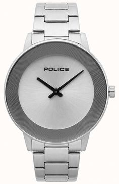 c6017d840fb8 Police Mens Sunrise Stainless Steel Minimalistic Watch 15386JS 04M - First  Class Watches™