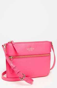 kate spade new york 'cobble hill - tenley' crossbody bag, small available at #Nordstrom i only like it in nude