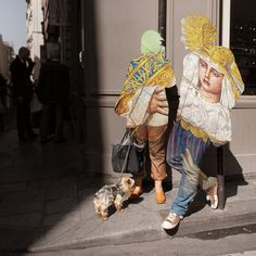 Surreal Digital Collages on People in the Street – Fubiz Media