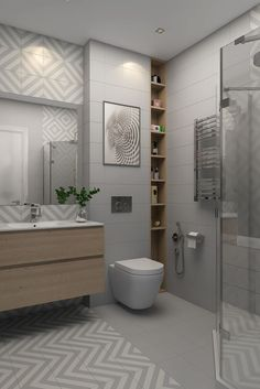Did you know at Amber Tiles Seaforth we have a team of qualified Interior Designers ready to Family Bathroom, Small Bathroom, Master Bathroom, Modern Bathroom, Bathroom Tile Designs, Bathroom Interior Design, Bad Inspiration, Bathroom Inspiration, Glass Partition Wall