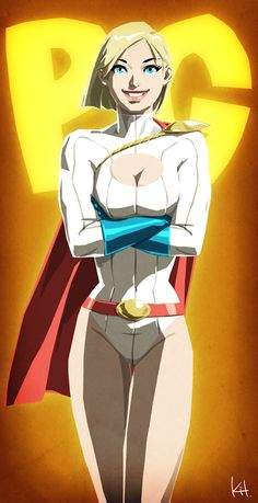 Power Girl by Kit *