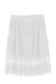 jupe 6134296 white - ColorBlock