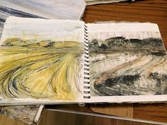 amanda hislop sketchbooks