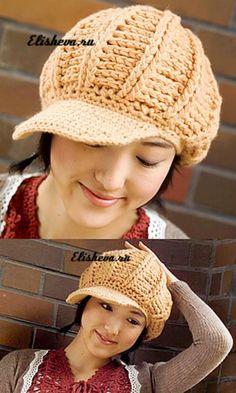Стильная кашемировая кепка