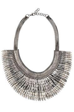 Stella & Dot | Pegasus Necklace in silver