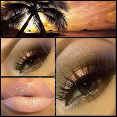 Trendy Makeup Ideas - Smokey Eyes : Neutral make-up Glam Makeup, Love Makeup, Makeup Tips, Makeup Looks, Hair Makeup, Makeup Ideas, Makeup Inspo, Makeup Lipstick, All Things Beauty