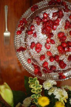 Dessert: Martha Stewart's Cranberry, Almond, and Cinnamon Tart | Food ...