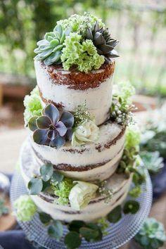 Succulent cake decorations