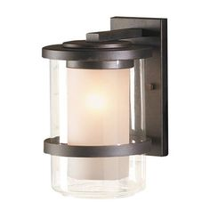 allen + roth 11-3/4-in Dark Oil Rubbed Bronze Outdoor Wall Light This allen + roth product is for use with one 100-watt frosted incandescent bulb.  Oil…