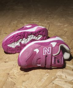 Pretty in pink in our New Balance 580.