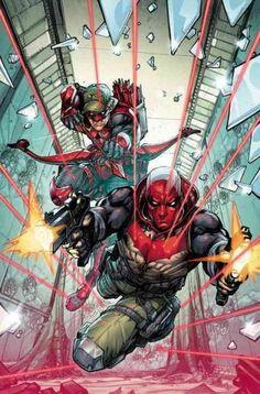 DC Comics Hood / Arsenal 1