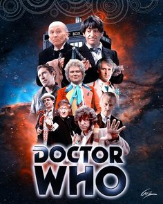 Doctor Who Convention, Bbc Tv Series, Doctor Who Art, First Doctor, Time Lords, Doctors, Past, This Is Us, Presents