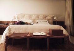 Quarto Hotel Fasano Fazenda Boa Vista. Cabeceira dos sonhos!!!
