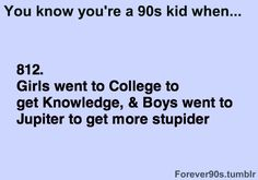 Hahahaha laughed out loud at this. I said this to my brother ALL the time!!!