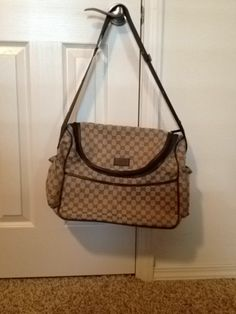 AUTHENTIC -- Gucci Diaper Bag And Tote  - $750