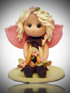 Libra Baby Fairy by fairiesbynuria on Etsy, $12.00