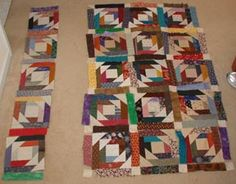 """Quiltville's Quips & Snips!!  """"Webbing The Top!""""  or  How To Chain Stitch Blocks Into That Top!  (With Sashings, or Without!)"""