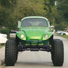 Lifted VW bug