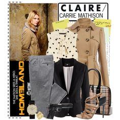 Just very cool!  Homeland, created by catterson.polyvore.com
