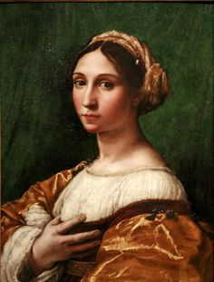 Portrait of a young woman, c. 1515-1520, Raphael (1483-1520)