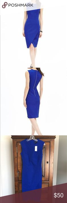 Sloan fit cross front dress Cotton/viscose/spandex, dry clean only Banana Republic Dresses