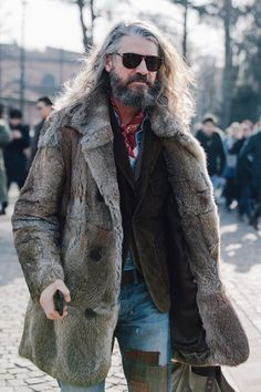 The best street style from Pitti Uomo Fall 2017. Photographed by Dan Roberts.: