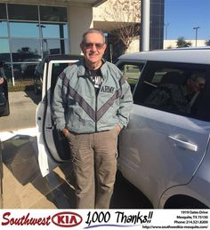 https://flic.kr/p/CHwMRp   Congratulations Ronald on your #Kia #Soul from Angela Williams at Southwest Kia Mesquite!   deliverymaxx.com/DealerReviews.aspx?DealerCode=VNDX