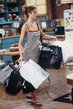 34 Rachel Green Fashion Moments You Forgot You Were Obsessed With on Friends - Cosmopolitan.com