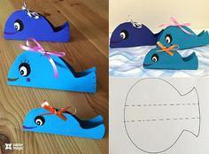 Paper craft with animals :)