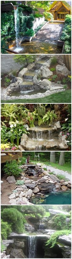 How To Build A Garden Waterfall Pond 3