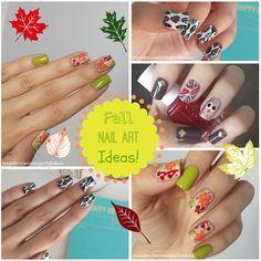 Fall nail art ideas!