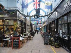 Walking around Brixton Village Indoor Market, Brixton, London - Friday 1...