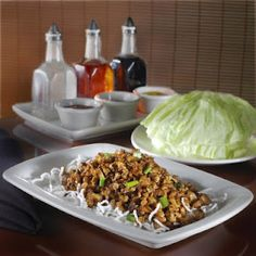 pf chang's lettuce wraps. So good. I could eat the sauce all by itself. Yummm