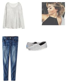 """Untitled #103"" by abby-nelson1015 on Polyvore featuring H&M, American Eagle Outfitters and TOMS"