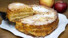Finom almatorta 3 csésze! Hihetetlenül egyszerű és könnyű almás pite! Pear Recipes, Cake Recipes, Kitchen Recipes, Baking Recipes, Cake Cookies, Cupcakes, Pear Dessert, Exotic Food, Cake Decorating Techniques
