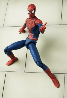 Lindsey's Toy Room - The Amazing Spider-Man 2 - Spider-Man Action Figure - Mafex